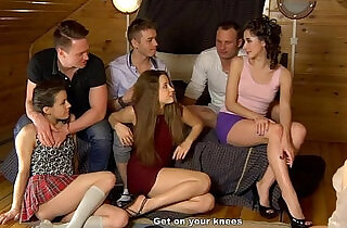 first sexual experiment on sex party.  xxx porn