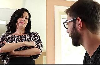 Familyhookups hot milf teaches stepson how to fuck.  xxx porn