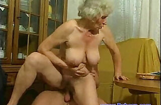 Granny fuck with young guy.  xxx porn