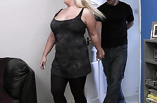 He bangs lovely blonde bbw at first date.  xxx porn