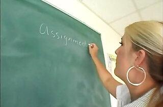 Chubby Teacher Fucks Student WHO IS SHE?.  xxx porn