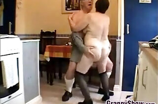 Horny Grandma And Grandpa Having Sex.  xxx porn