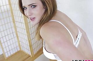 Drilling his beautiful stepsis Peyton Robbie.  xxx porn