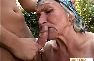 Ugly Hairy Granny Fucks.  xxx porn