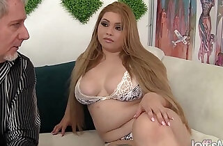 Sexy and horny Asian plumper Arianny Koda hardcore sex.  horny  ,  plump   xxx porn
