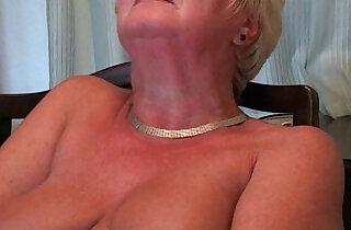 British and curvy grandma Sandie.  xxx porn