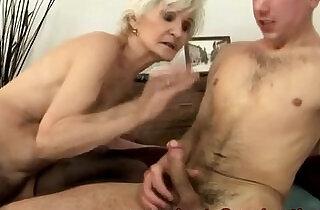 Amateur mature granny gets ravaged.  xxx porn