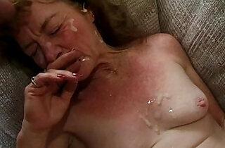Granny gangbanged.  xxx porn