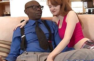 Stepdaughter cocksucking black stepdad.  xxx porn