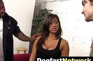 Cuckold Watches Her Fuck A Big Black Cock.  xxx porn