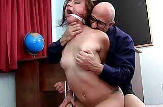 Teen Caught, Fucked, Made to Cum.  xxx porn