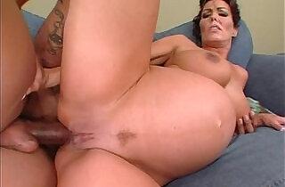 Nancy Vee pregnant interracial anal.  xxx porn
