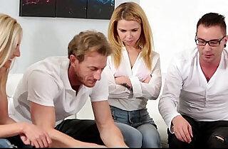 FamilyStrokes Family Game Night Orgy.  xxx porn