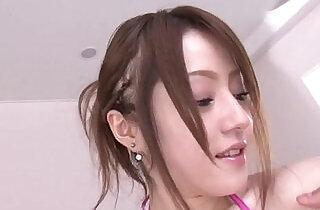 Ria Sakurai is close to a massive threesome porn show.  xxx porn