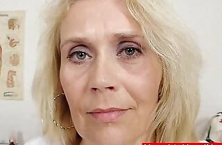 Blonde curvicious mature nurse.  xxx porn