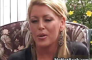 Chelsea Zinn is a wild blonde MILF who bit off wa.  xxx porn