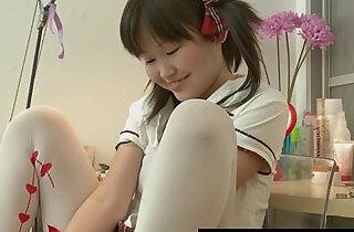 Petite Asian Orgasming Before School.  xxx porn