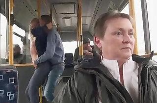 Ass Fucked on the Public Bus.  xxx porn