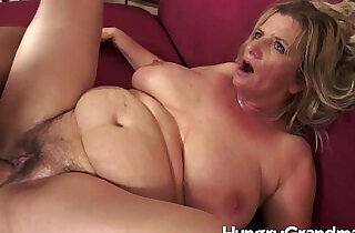 Hairy granny cunt for younger dude.  xxx porn