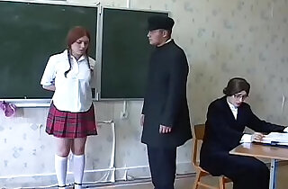 Redhead russian schoolgirls gets whipped by the teacher..  school sex  ,  schoolgirls  ,  sex teacher   xxx porn