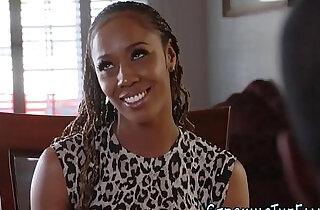 Black stepdaughter jizzed.  xxx porn