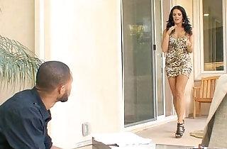 Housewife McKenzie Pierce Goes Black.  xxx porn