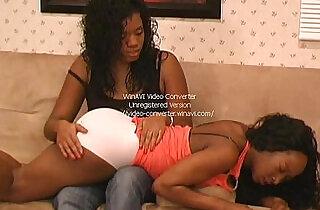 spanked ebony bottoms pt.  xxx porn