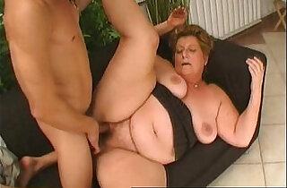Chubby granny doing all dirty.  xxx porn