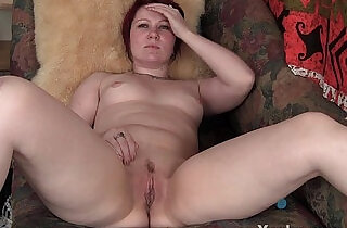 Sexy Redhead MILF Masturbating.  xxx porn