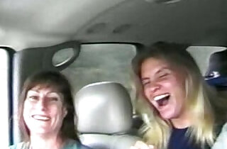 Sisters fucking on camera for a ride to Mardi Gras.  xxx porn