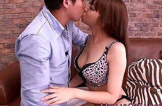 Japanese milf Erina Moa clit stimulated.  xxx porn