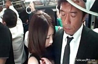 Cute asian babe in stockings gets her tits pussy.  interracial  ,  japaneses  ,  outdoor  ,  public place  ,  pussycats   xxx porn