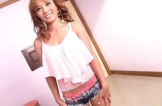 Fine ass Thai babe sucks and rides white cock creampie.  xxx porn