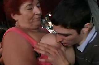 Crazy plump chicks have fun in the bbw bar.  xxx porn