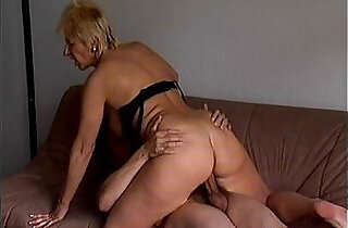 Crazy old mom gets fucked really hard.  xxx porn