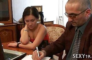 Hardcore lesson with hot chick.  xxx porn