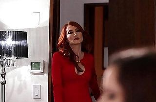 Hot MILF Kendra James Seduces Ember Stone.  xxx porn