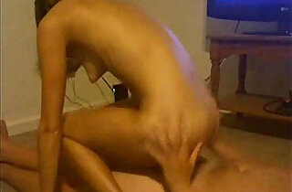 Clit Rub and Fucking my Girlfriend plays with Puffy Tits.  nippled  ,  tits   xxx porn