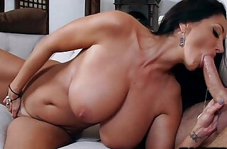 Ava Adams gives a persuasive blowjob sucking Keiran Lee.  xxx porn