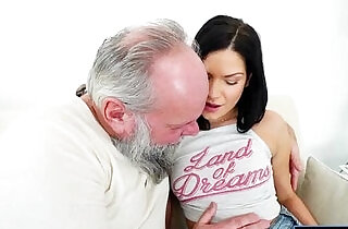 Euro Annie Wolf enjoys being licked by a grandpa n suck cock.  rope sex  ,  sucking   xxx porn