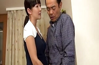 oriental: Young asian Girl meets Old Man by PACKMANS
