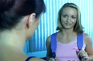 Parents and babysitter in a threesome.  xxx porn