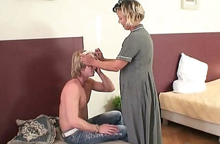 He explores and fucks her old pussy.  xxx porn