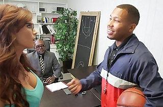 Slutty Mom Sucks off Basketball Players.  xxx porn