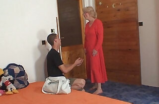 Angry mother in law forced him.  xxx porn