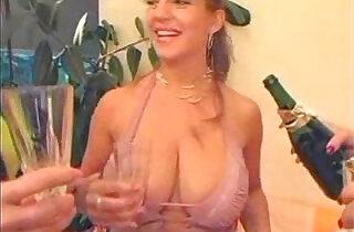 Busty Lesbo Strapon.  xxx porn