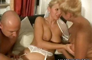 Amateur couple homemade threesome session with slut nasty Milfs.  MILF porno  ,  nasty fuck  ,  slutty  ,  xxx couple   xxx porn