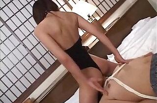 Subtitled cfnm Japanese wife becomes dominant femdom mistress.  xxx porn