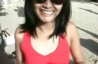 Indonesian Girl Gone Wild On The Bali Beach.  xxx porn