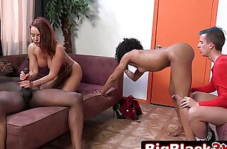 Making This Pathetic Loser a Cuckold Janet Mason, Misty Stone.  xxx porn